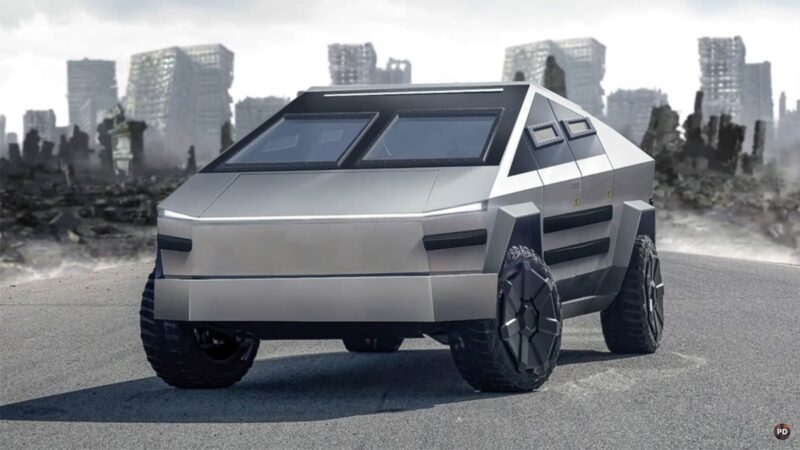 Tesla Cybertruck for the Apocalypse (civil variant).