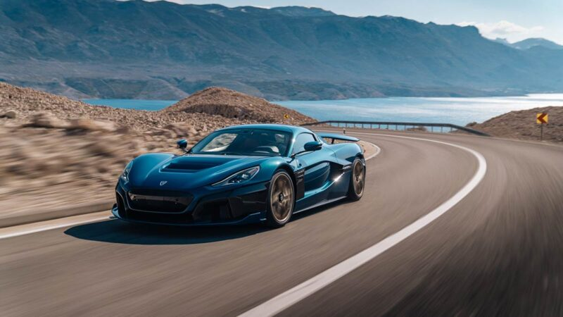 Rimac Nevera electric hypercar. Unveiling and background story.